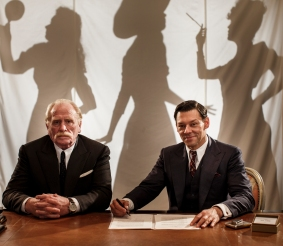 Picture shows: Jules Trouvier (JAMES COSMO) & Paul Sabine (RICHARD COYLE)