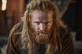 The Last Kingdom Series 3 Episode 2 Magnus Bruun as Cnut Cnut is wary of Uhtred's loyalty to Danes © Carnival Film & Television Limited 2018 Orbital Strangers